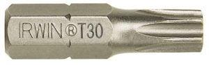 "Krótkie IRWIN I-10504353 GROT TYPU TORX 1/4"" 25MM 10 SZT. T20 1/4"""