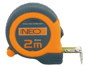 Zwijane NEO TOOLS N67-112 MIARA ZWIJANA 2M/16MM 2m/16mm