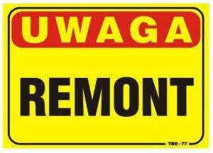 Tablice INNY TAB T033 TABLICA 35x25CM UWAGA! REMONT 35x25cm