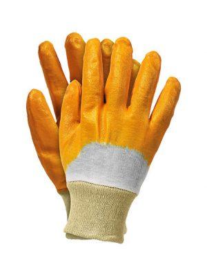Ochrona rąk INNY REK OGR 448 RĘKAWICE NITRYLOWE ZE ŚCIĄGACZEM ŻÓŁTE RECONIT-Y 8 PP-020 nitrylowe,