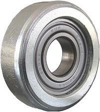 Metalowe ZABI KL043 R-43M ROLKA METALOWA 43MM ŁOŻYSKOWANA R-43-M 4,3mm