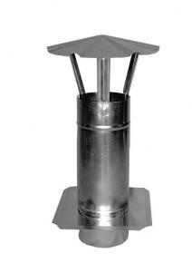 Ocynkowane INNY RKM 200KR2 KOMINEK WENTYLACYJNY OCYNKOWANY Z PŁYTĄ 200MM 20,0mm