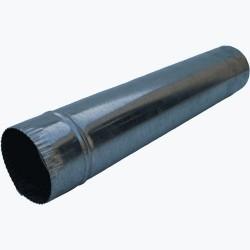 Spalinowe INNY RCP 100 RURA PIECOWA CZARNA 1MB Z BLACHY 1MM 100MM 10,0mm