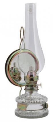 Pozostałe INNY IR LAN20 LAMPA NAFTOWA XL Z LUSTREM 20CM/8 20cm/8