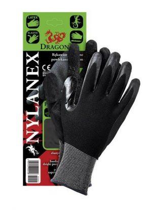 Ochrona rąk INNY REK NYLANE7 RĘKAWICE Z NYLONU POWLEKANE LATEXEM NYLANEX 7 latexem