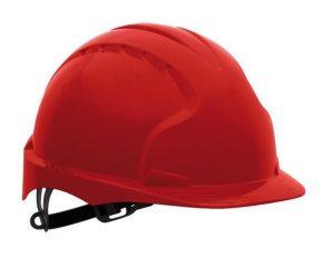 Ochrona głowy/twarzy JSP HE EVO3 CZ JSP HEŁM OCHRONNY KAS-EVO-3 C CZERWONY czerwony