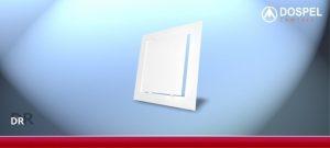 Z Tworzywa DOSPEL WD-007-1243 DRZWICZKI REWIZYJNE PLASTIKOWE Z ABS 200x200MM 20,0x200mm