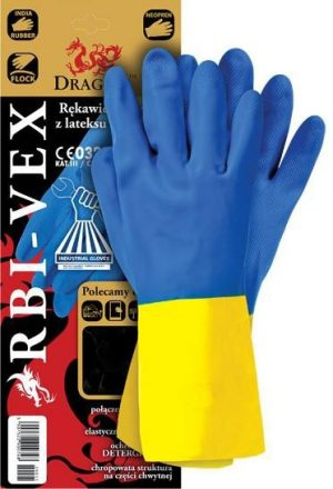 Ochrona rąk INNY REK GU RBV10 RĘKAWICE GUMOWE RBI-VEX ROZMIAR 10 gumowe