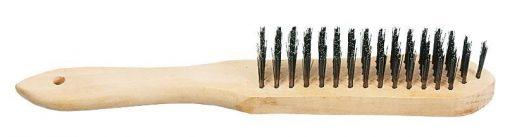 Rączka Drewniana INNY SZ 15 II SZCZOTKA DRUCIANA 5-RZĘDOWA 5-rzĘdowa