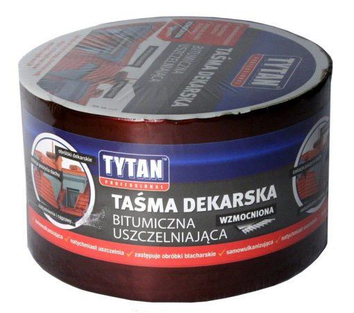 Taśma TYTAN TAS DEK 15 2 TAŚMA DEKARSKA TYTAN WZMACNIANA 15CMx10MB CZERWONY/CEGLASTY 15cmx10mb