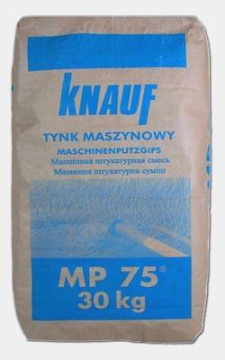 Pozostała INNY 5ZAPR.MP75 ZAPRAWA TYNKARSKA MASZYNOWA MP75 30KG 30kg
