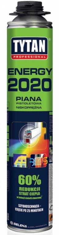 Uniwersalna TYTAN PIA PI TO2EN PIANKA PISTOLETOWA TYTAN 750ML O2 ENERGY 2020 20×20