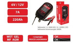 Bez Rozruchu INNY BW SMART7 PROSTOWNIK INTELIGENTNY DO ŁADOWANIA SMART CHARGER 7 charger