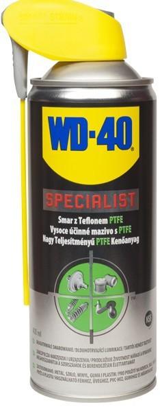 Preparaty Wielofunkcyjne WD-40 WD-40 104 WD-40 SPECIALIST SMAR TEFLONOWY PTFE 400ML AEROZOL 400ml