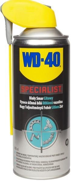 Preparaty Wielofunkcyjne WD-40 WD-40 102 WD-40 SPECIALIST SMAR BIAŁY LITOWY400ML AEROZOL aerozol