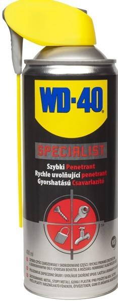 Preparaty Wielofunkcyjne WD-40 WD-40 103 WD-40 SPECIALIST SZYBKI PENETRANT 400ML AEROZOL 400ml