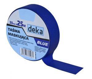 Professional DEKA D-300-0003 TAŚMA MALARSKA. BLUE 30MMx25M 30mmx25m