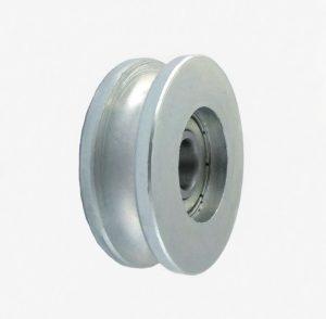 Metalowe ZABI KL044 CM44/8 ROLKA METALOWA 44MM ŁOŻYSKOWANA NA LINKĘ CM44/8Ł 4,4mm
