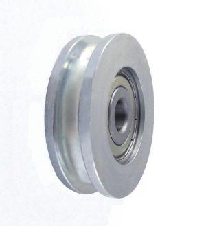 Metalowe ZABI KL054 CM54/8 ROLKA METALOWA 54MM ŁOŻYSKOWANA NA LINKĘ CM54/8Ł 54mm,