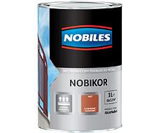 Do Metalu Antykorozyjna NOBILES 5FANO.POP1.0 NOBILES ANTYKOROZYJNY PODKŁAD FTALOWY NOBIKOR POPIELATY 1L 5fano.pop1.0