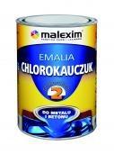 Do Metalu MALEXIM M/CHL.BRĄ1.0 EMALIA CHLOROKAUCZUK BRĄZOWA 8016 1L 8016