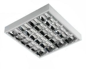 Oprawy Rastrowe INNY AV-RA4x8T8N OPRAWA RASTROWA DO ŚWIETLówEK LED T8 4x60CM NATYNKOWA 4x60cm