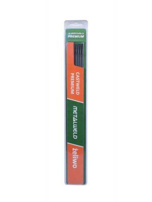 Do Żeliwa METALWELD ELE 3.2CP BL ELEKTRODA RUTYLOWA CASTWELD PREMIUM BLISTER 3.2MM OP. 5 SZT. 3-2mm