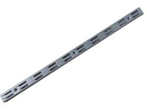 Regały BRAKET G-140-6005 LISTWA ŚCIENNA PODWÓJNA BRAKET PLATINUM 50CM 50cm