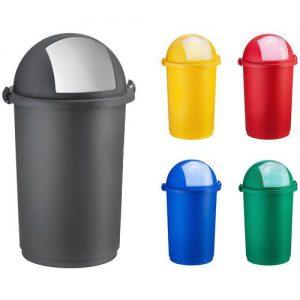 Na Odpady INNY POJ PU NIE POJEMNIK NA ODPADY PUSH NIEBIESKI niebieski