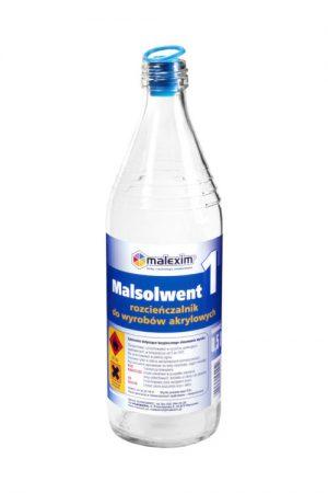 Uniwersalny MALEXIM M/MALSOL 1 ROZPUSZCZALNIK MALSOLWENT 1 DO AKRYLOWYCH 0.5L 0.5l