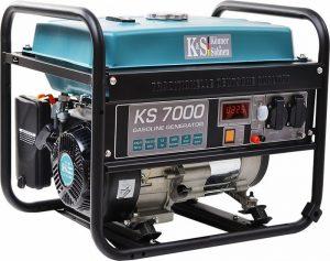 Agregaty Prądotwórcze K&S GERMANY DX KS7000 AGREGAT BENZYNOWY 1F 5,5 KW agregat