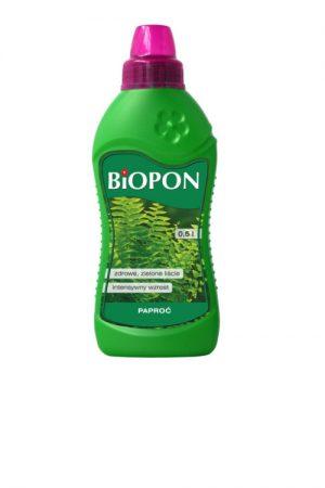 Nawozy i Odżywki BIOPON BR BIO-1021 NAWÓZ DO PAPROCI 0.5L 0.5l