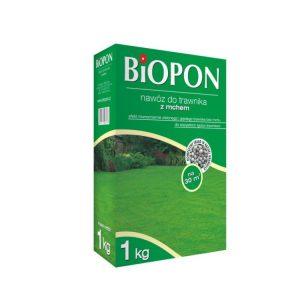 Nawozy i Odżywki BIOPON BR BIO-1121 NAWÓZ DO TRAWNIKA Z MCHEM 5 KG bio-1121