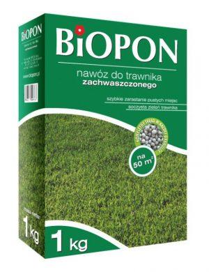 Nawozy i Odżywki BIOPON BR BIO-1131 NAWÓZ DO TRAWNIKA ZACHWASZCZONEGO 1 KG bio-1131