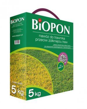 Nawozy i Odżywki BIOPON BR BIO-1175 NAWÓZ DO TRAWNIKA PRZECIW ŻÓŁKNIĘCIU 1 KG bio-1175