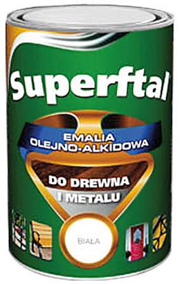 Do Metalu MALEXIM M/SFT.CZE0.8 EMALIA SUPERFTAL DO DREWNA I METALU CZERWONA 0.8L 0.8l