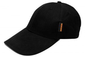 Pozostałe ROCKER R-815-1102 CZAPKA OCHRONNA Z DASZKIEM CZARNA czapka