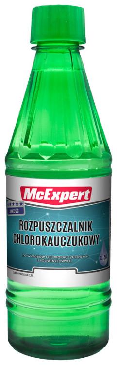 Chlorokauczukowy MCEXPERT MC-600-3005 ROZPUSZCZALNIK CHLOROKAUCZUKOWY 0,5L 0,5l