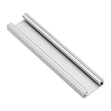 Zasilacze i Kontrolery INNY V-GLAXNKAL PROFIL ALUMINIOWY LED NAKŁADANY GLAX SILVER 2M aluminiowy
