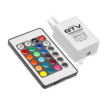 Zasilacze i Kontrolery INNY V-KONMINIRGB KONTROLER LED RGB MINI 12V DC IP20 MAX 72W ip20