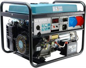 Agregaty Prądotwórcze K&S GERMANY DX KS10000E1 AGREGAT BENZYNOWY 8 KW 3F VTS E-1/3 agregat