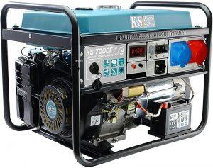Agregaty Prądotwórcze K&S GERMANY DX KS7000E-1 AGREGAT BENZYNOWY 3/1F 5.0 KW VTS E-1/3 3/1f