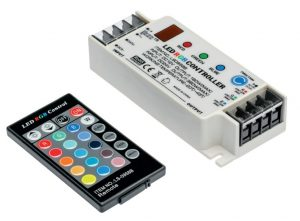 Zasilacze i Kontrolery INNY V-KONRGB-00 KONTROLER LED RGB PILOT DC12/24V dc12-24v