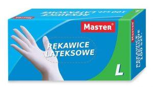 Ochrona rąk INNY REK GU LA M RĘKAWICE LATEXOWE MASTER latexowe