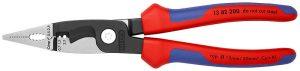 Szczypce wielofunkcyjne KNIPEX KN 13 82 200 SZCZYPCE DO PRAC ELEKTROINSTALACYJNYCH 200MM 20,0mm