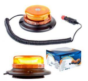 Pozostałe INNY EV LAM WL400 LAMPA OSTRZEGAWCZA OBROTOWA – MAGNES WL400 3W LED MOCNA –