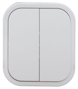 Natynkowe INNY E+9001550 B2 ŁĄCZNIK ŚWIECZNIKOWY N/T IP44 BIAŁY biały