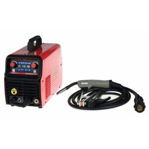Urządzenia Mig/Mag INNY BW TMIG212SY PÓŁAUTOMAT SPAWALNICZY TECNOMIG 212 LCD SYNERGIC VRD ALU mig/mag