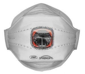 Ochrona głowy/twarzy JSP BHP JSP 8478 JSP MASKA PRZECIWP SPRINGFIT ZAWOREK TYPHOONE 435ML FFP3 435ml,