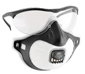 Ochrona oczu JSP BHP JSP 3939 JSP OKULARY OCHRONNE + FILTERSPEC FMP2 PRZEŹROCZYSTE 3939